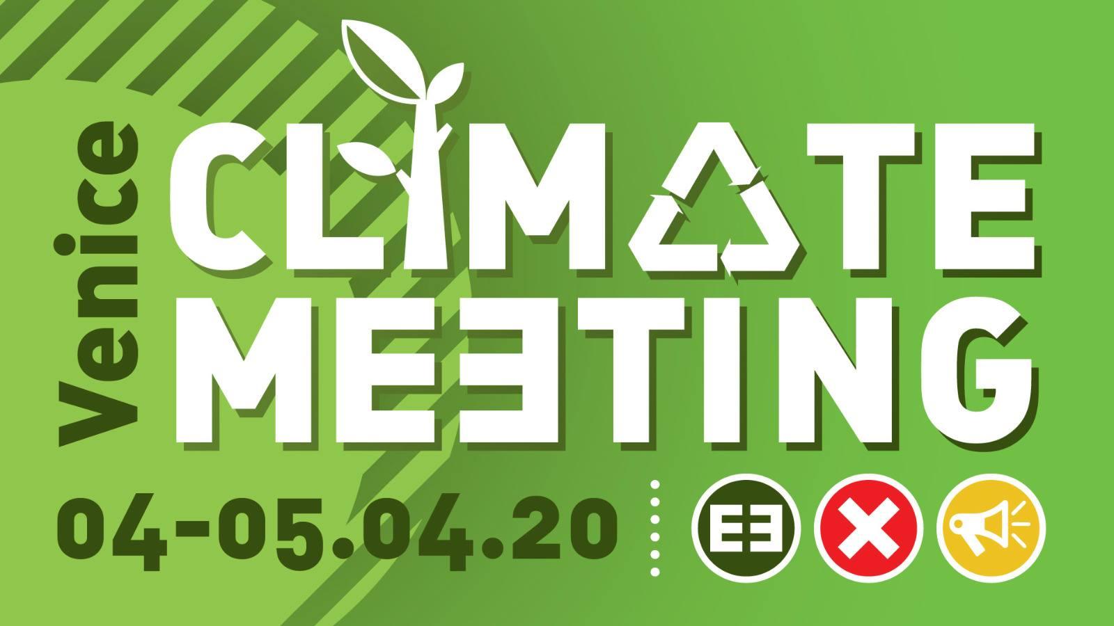 VENEZIA: 04-05 APRILE. MEETING E CORTEO PER LA GIUSTIZIA CLIMATICA E CONTRO LE GRANDI OPERE